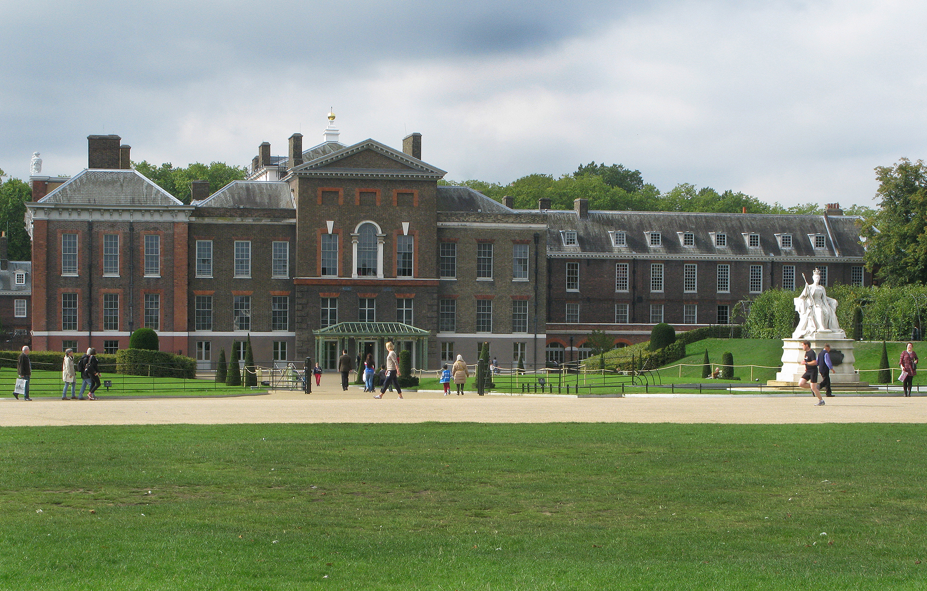 Kensington Palace And Gardens Kensington 1927 Britain