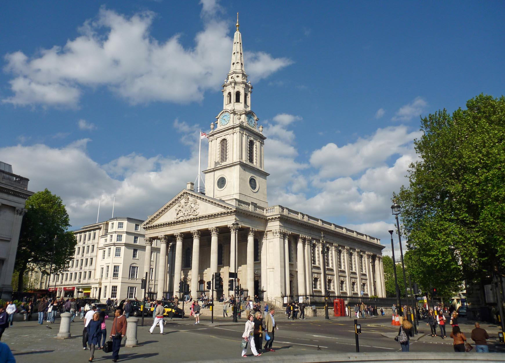 St martins in the fields cryptogram