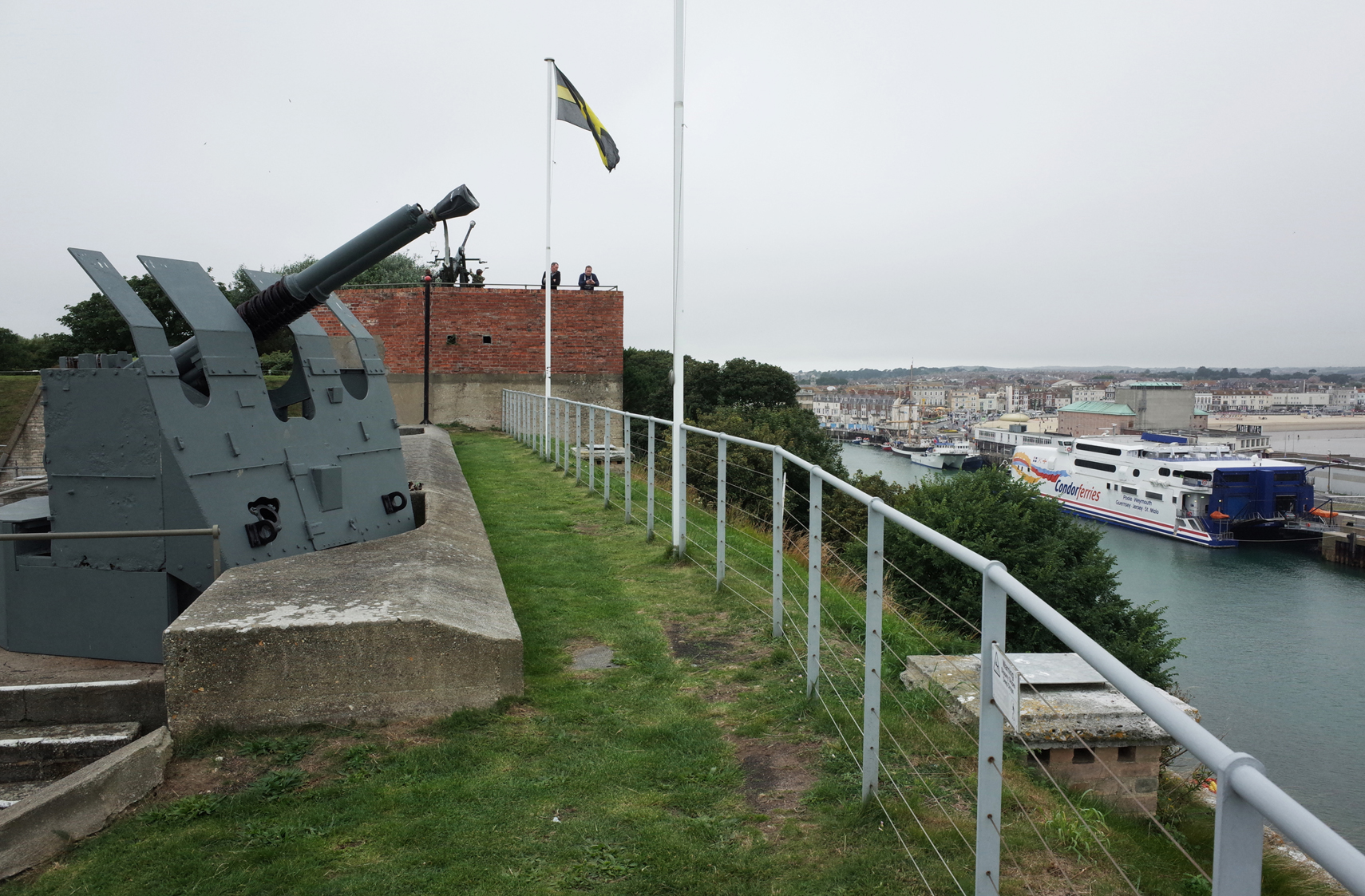 fort nothe weymouth harbour britain 1947 sign britainfromabove