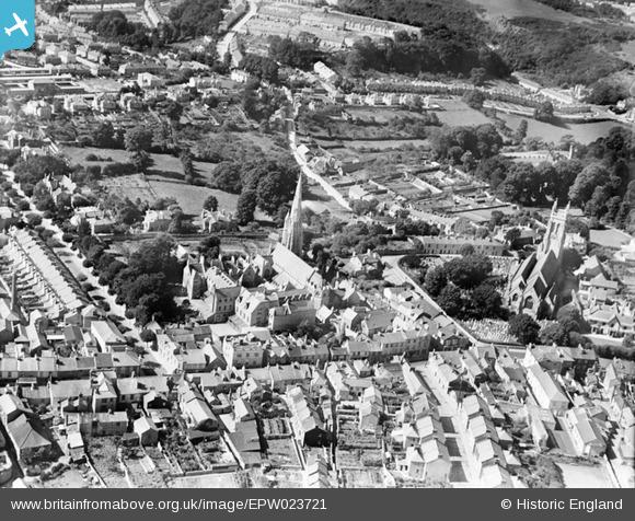 epw023721 ENGLAND (1928)  St Mary's Church and The Roman Catholic
