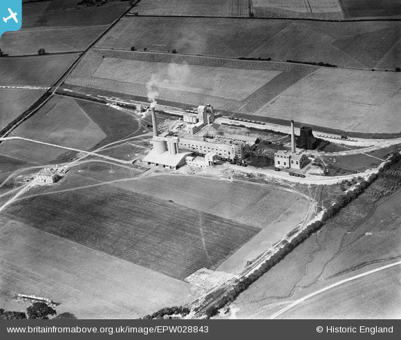 EPW028843 ENGLAND (1929). The Portland Cement Works
